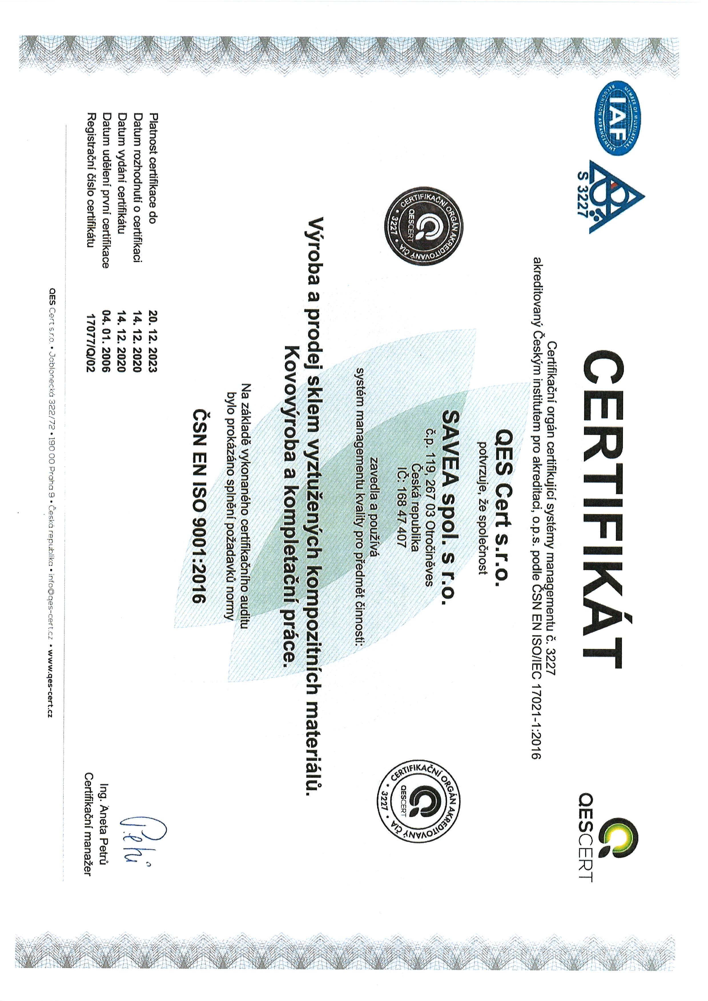 ČSN EN ISO 9001:2009 CZ